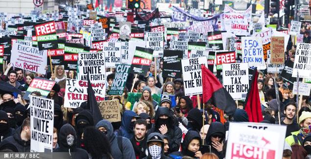 英國2年來學費漲3倍 台灣漲多少?