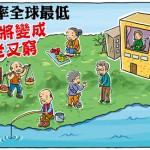 台灣生育率全球最低