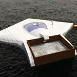 可清除725萬噸塑料的海洋清理器