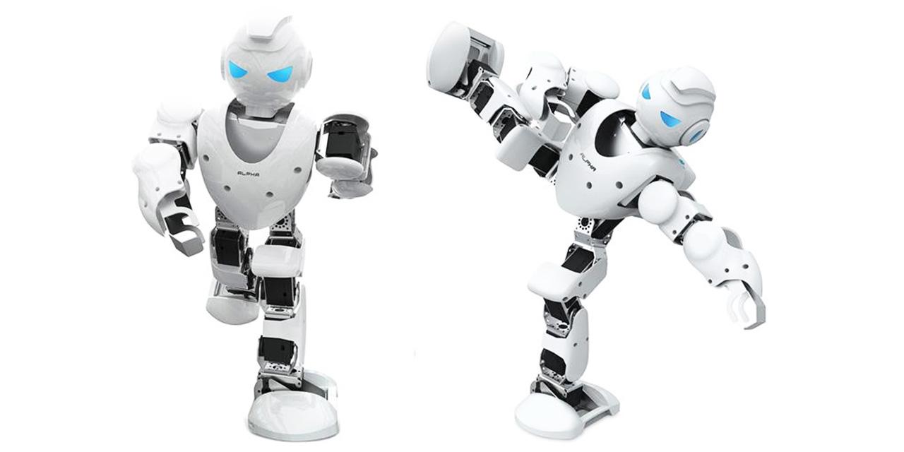 高智能模拟机器人