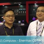2015 Computex Enermax OSTROG Advance 黑魅騎士 進階版