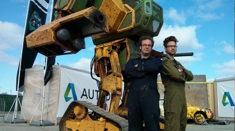 巨型機器人格鬥賽 美日明年開戰