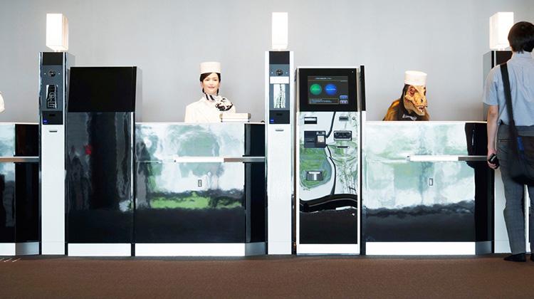 世界第一家由機器人營運的旅館在日本