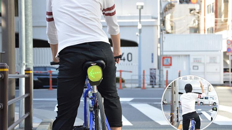 夜騎必備!可有效提昇腳踏車行車安全的多功能方向燈