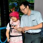 首條智慧街道成形 iBeacon助視障者向前走