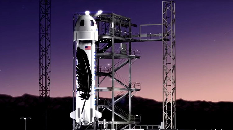 亞馬遜砸65億發展太空旅遊 目標「人人可上太空」