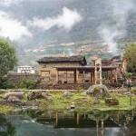香格里拉雨崩神瀑——神聖的洗禮