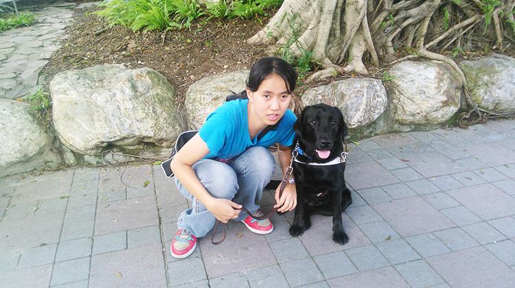 視障者的天使之眼 導盲犬