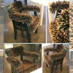 無法坐好坐滿的設計椅