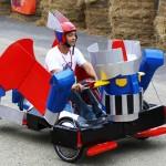 創意吸引觀光 西拉雅飆「走馬飛車」