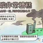 台灣減碳非常糟糕