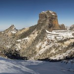 雪山聖稜 大自然的鬼斧神工