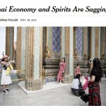 《紐約時報》頭版指泰國經濟下滑 泰印刷商直接留白「開天窗」