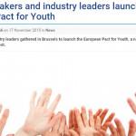 歐洲青年就業公約 串連學校與業界