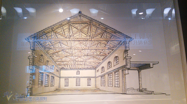 李乾朗手绘台博建筑特展