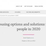 2020年英國青年居住供需將失衡