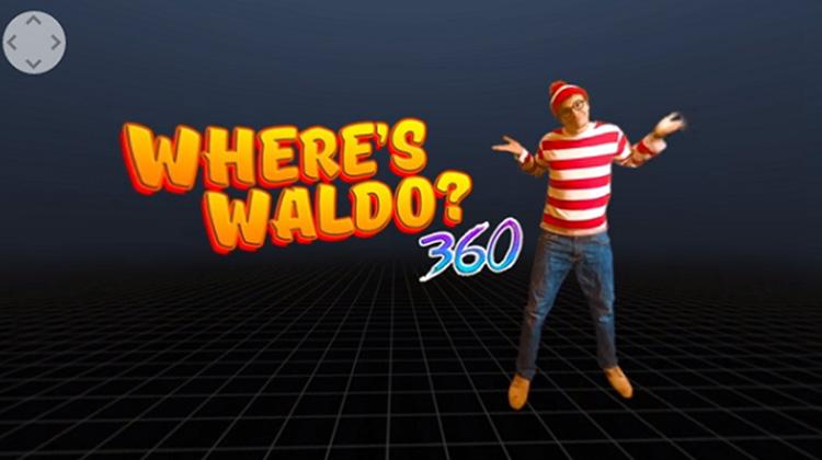 "Where's Waldo? ""威利在哪裡?"" 360 度環繞版更逼人"