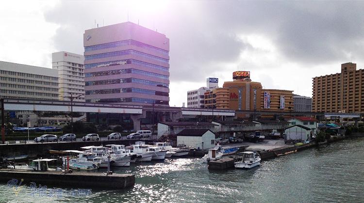 征服沖繩那霸空港的過程中,我遇到了很多