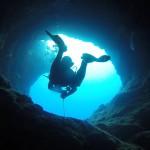 """""""現代哥倫布""""發現了史上最深海底洞穴"""