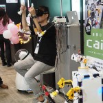 CEATEC 2016 :讓行動不便者或不方便到場者也能彷彿置身其物中,株式會社海馬結合體感與 VR 的機器人 Dalek