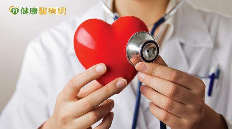 心臟衰竭分四期 三高控制不好易上身