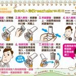 乾粉吸入劑的用法|全民愛健康 慢性阻塞性肺病篇4&5&6