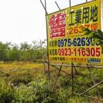 放任土地長草養蚊 就是不蓋廠 圈地、養地、炒地三部曲 工業用地漲翻天