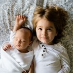 幫助家中長子迎接新生兒到來