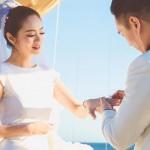 「不乖罵小聲一點」,安以軒結婚誓詞滿滿洋蔥!