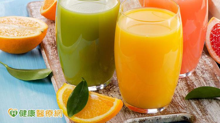 喝果汁解渴 4大族群別多喝