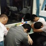 火車硬座車間的百態人生