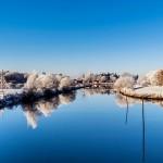 在德國多瑙河歡渡聖誕節