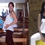 Janet懷孕41週自然產,老公陪產剪臍帶誇老婆神力!