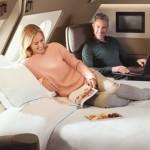 航空公司推出新的頭等艙套房