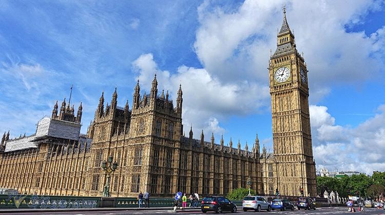 英國倫敦的都市禮讚