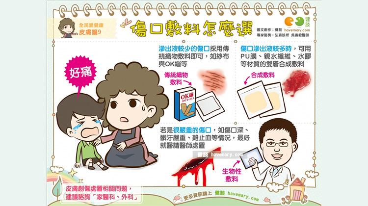 傷口敷料怎麼選|全民愛健康 皮膚篇9