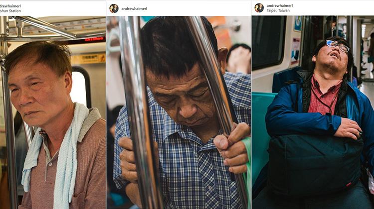 【你累了嗎?】從美國到台灣生活的他,用鏡頭拍出了你熟悉的「台北疲倦」