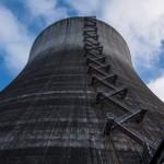 1980年代的廢棄核能發電廠