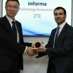 中興通訊榮獲MWC2018最佳5G技術創新獎