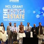 印度內政部長Rajnath Singh閣下祝賀2018年HCL Grant計劃受助者