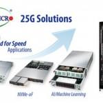 美超微以全新25G乙太網服務器和存儲產品為100G網絡升級打開通道