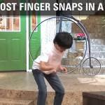 手指就是他破世界記錄的武器-「指男」的音樂演奏會