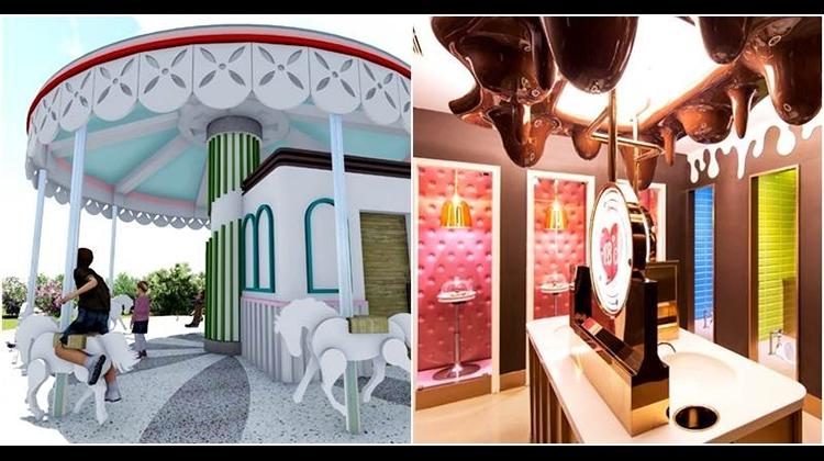 足球世界、旋轉木馬、巧克力皇宮,不是遊樂園竟是超可愛廁所!