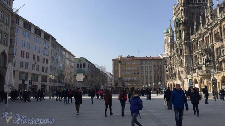 瞥見慕尼黑——「豐盛的」瑪利亞廣場