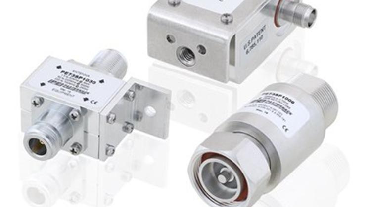 Pasternack推出一系列同軸射頻避雷器及浪湧保護器新產品