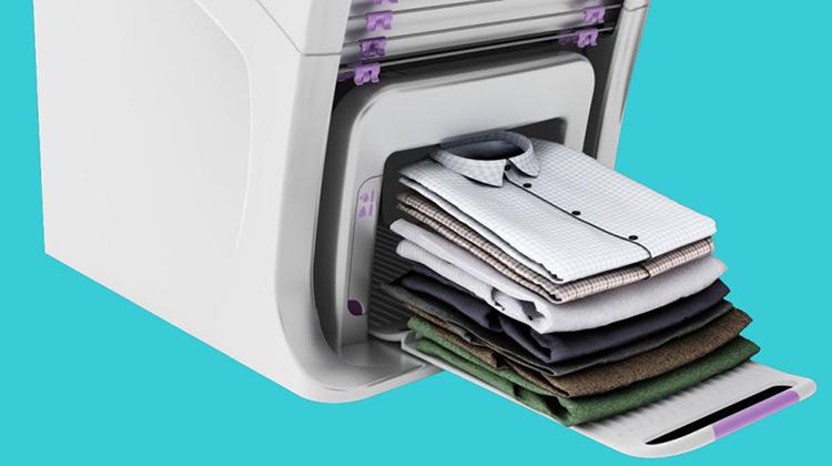 自動折疊衣服的機器時代離我們遠嗎?