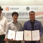 PRASM連續簽署諒解備忘錄,拓展數據塊鏈生態系統