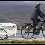 自行車的露營帳棚