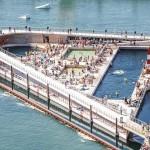 丹麥的新人工海水浴場