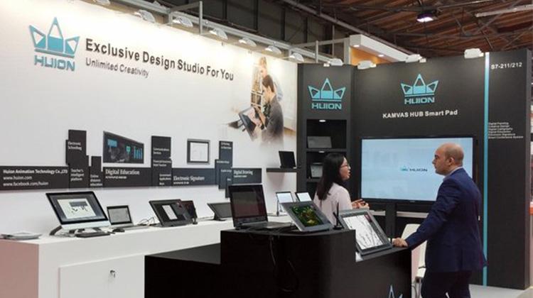 繪王亮相2018德國IFA展,最新款數位板、數位屏觸手可及